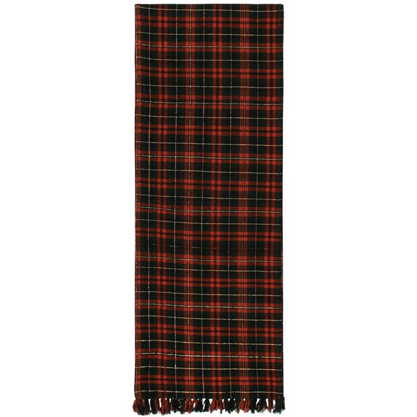 Delray 100% Cotton Plaid Table Runner (Set of 2) by Darby Home Co